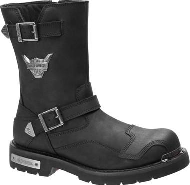 Harley-Davidson Men's Stroman 9-Inch Motorcycle Boots, D93521 - Wisconsin Harley-Davidson