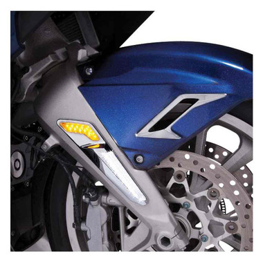 Ciro Goldstrike LED Fork Mounted Driving Lights - Sold in Pairs 48100-48120 - Wisconsin Harley-Davidson
