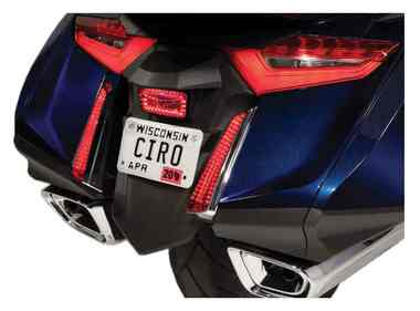 Ciro Goldstrike LED Filler Panel Lights, Gold Wing - Sold in Pairs 40030-40031 - Wisconsin Harley-Davidson