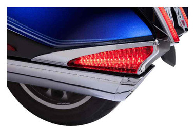 Ciro Goldstrike Saddlebag Lights, Fits Gold Wing - Chrome or Black 40036-40037 - Wisconsin Harley-Davidson