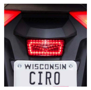 Ciro Goldstrike LED Reflector Replacement, Eliminates Plain Factory Ones 40035 - Wisconsin Harley-Davidson