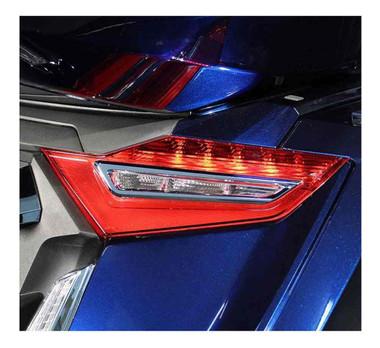 Ciro Goldstrike Taillight Trim - Chrome Finish, Fits Gold Wing Models 78210 - Wisconsin Harley-Davidson