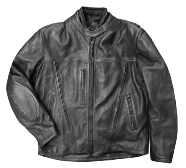 Redline Men's Armor Black Piping Motorcycle Functional Jacket - Black M-10BR - Wisconsin Harley-Davidson
