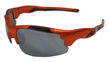 Redline Motorcycle Unisex Riding Sunglasses, Orange Frame & Gray Lenses - Wisconsin Harley-Davidson