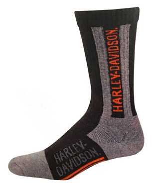 Harley-Davidson Men's Work Boot Performance Wicking Riding Socks D99233370-001 - Wisconsin Harley-Davidson