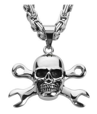 Harley-Davidson Women/'s Willie G Skull Distressed Denim Wristlet WDD5374-BLACK