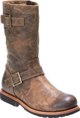 Harley-Davidson Men's Dellridge 10.75-Inch Grey or Brown Motorcycle Boots D93598 - Wisconsin Harley-Davidson