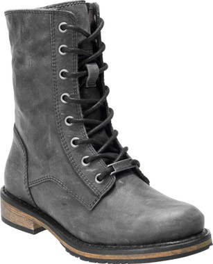 Harley-Davidson Women's Dulany 7-In Grey or Bwn Leather Motorcycle Boots D84538 - Wisconsin Harley-Davidson