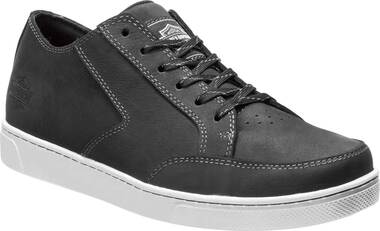 Harley-Davidson Men's Luton 3-Inch Bar & Shield® Logo Leather Sneakers D93623 - Wisconsin Harley-Davidson