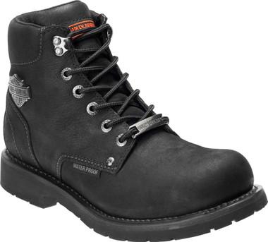 Harley-Davidson Men's Glenhurst 5.5-In Black or Olive WP Motorcycle Boots D96190 - Wisconsin Harley-Davidson