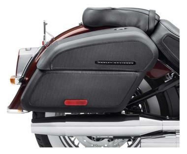 Harley-Davidson Detachables Locking Saddlebags, Fits FLDE Models 90201555A - Wisconsin Harley-Davidson