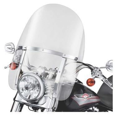 Harley-Davidson King Size Detachable 21 in. Windshield, Fits FL Softail 58243-95 - Wisconsin Harley-Davidson