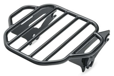 Harley-Davidson King Detachable Two-Up Luggage Rack - Black, Touring 50300058A - Wisconsin Harley-Davidson