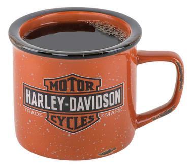 Harley-Davidson Trademark Bar & Shield Logo Campfire Mug - 14 oz. HDX-98620 - Wisconsin Harley-Davidson