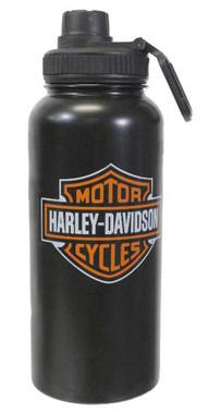 Harley-Davidson Bar & Shield Stainless Steel Thermos Water Bottle HDX-98621 - Wisconsin Harley-Davidson