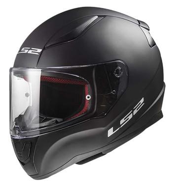 LS2 Helmets Full Face Street Rapid Motorcycle Helmet, Solid Matte Black 353-101 - Wisconsin Harley-Davidson