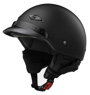 LS2 Helmets Bagger Fiberglass Motorcycle Half Helmet - Hard Luck Skull 568-311 - Wisconsin Harley-Davidson