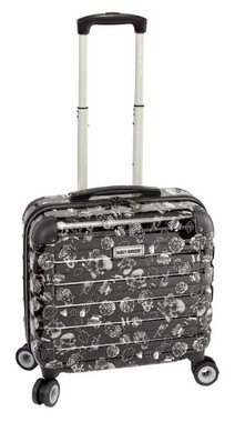 Harley-Davidson 17 in Overnight Carry-On Luggage w/ Spinner Wheels 99916-GRAYTAT - Wisconsin Harley-Davidson