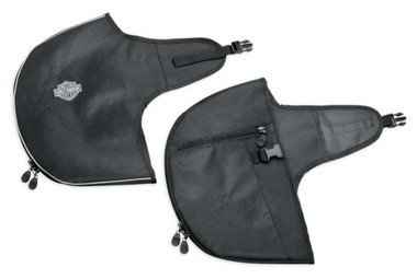 Harley-Davidson Soft Lowers Zip Guards - Fits Touring & Trike Models 57100210 - Wisconsin Harley-Davidson