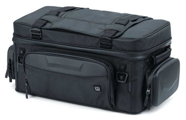 Kuryakyn XKursion XS Guardian Rack Bag - Black, 26 x 12 x 11 inches KU-5251 - Wisconsin Harley-Davidson