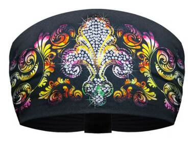 That's A Wrap Women's Multi-Color Bling Fleur Flourish Knotty Band KB1615-MULTI - Wisconsin Harley-Davidson