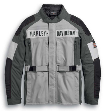 Harley-Davidson Men's Vanocker Colorblock Waterproof Riding Jacket 98125-20VM - Wisconsin Harley-Davidson