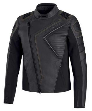 Harley-Davidson Men's Watt Slim Fit Vented Leather Jacket - Black 98002-20VM - Wisconsin Harley-Davidson