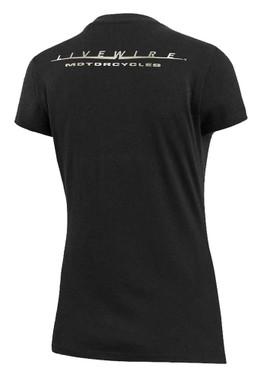 Harley-Davidson Women's LiveWire Graphic Short Sleeve Tee - Black 99075-20VW - Wisconsin Harley-Davidson