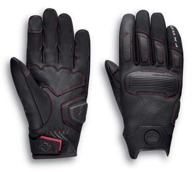 Harley-Davidson Men's FXRG Dynamic Performance Gloves - Black 98296-20VM - Wisconsin Harley-Davidson