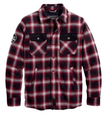Harley-Davidson Men's Arterial Abrasion-Resistant Riding Shirt Jacket 98124-20VM - Wisconsin Harley-Davidson