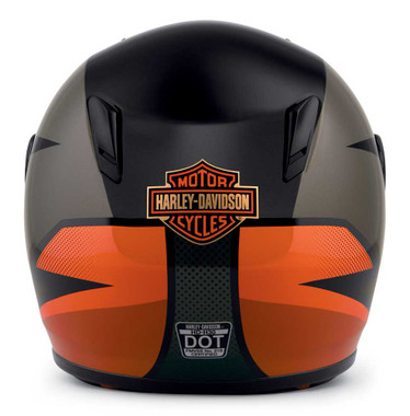 Harley-Davidson Men's Killian Youth H30 Full-Face Kids Helmet, Orange 98116-20VX - Wisconsin Harley-Davidson