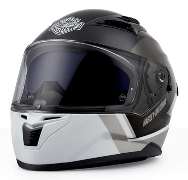 Harley-Davidson Men's Killian M05 Full-Face Helmet, Gray/Black/White 98115-20VX - Wisconsin Harley-Davidson