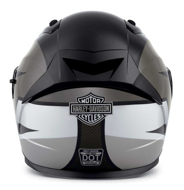 Harley-Davidson Men's Killian M05 Full-Face Helmet, Gray/Black/White 98115-20VX - Wisconsin Harley-Davidson