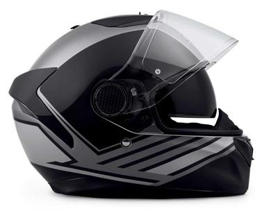 Harley-Davidson Men's Vanocker S08 Full-Face Helmet, Gloss Black 98102-20VX - Wisconsin Harley-Davidson