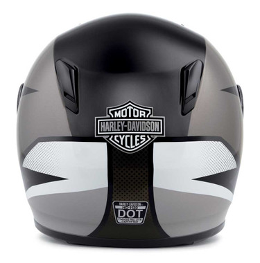 Harley-Davidson Men's Killian Youth H30 Full-Face Kids Helmet, White 98117-20VX - Wisconsin Harley-Davidson