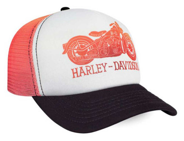 Harley-Davidson Women's Dusky Road Gradient Foam Snap Back Baseball Cap BC34457 - Wisconsin Harley-Davidson