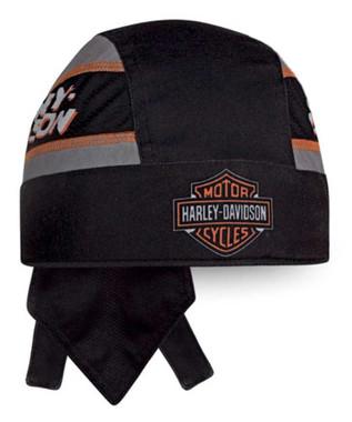 Harley-Davidson Men's #1 Bar & Shield Moisture Wicking Headwrap, Black HW03580 - Wisconsin Harley-Davidson