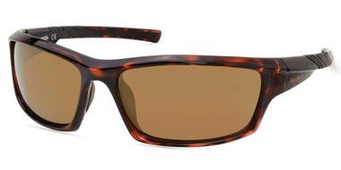 Harley-Davidson Women's Rubberized Sport Sunglasses, Tortoise Frame/Brown Lenses - Wisconsin Harley-Davidson