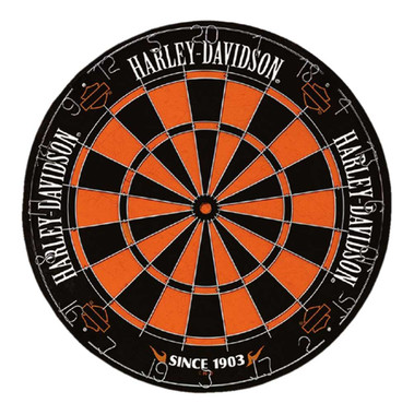Harley-Davidson Traditional Premium Dartboard w/ Harley Colors - 18 in. 61978 - Wisconsin Harley-Davidson