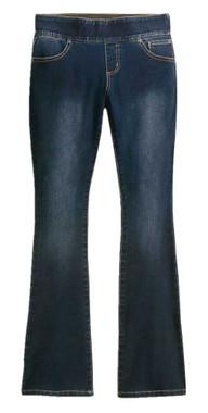 Harley-Davidson Women's Bootcut Stretch Waistband Jeans, Dark Indigo 99069-20VW - Wisconsin Harley-Davidson