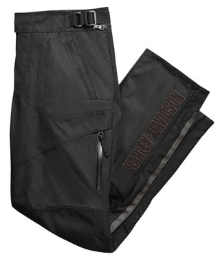 Harley-Davidson Men's Vanocker Waterproof Riding Overpant, Black 98127-20VM - Wisconsin Harley-Davidson