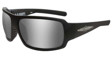 Harley-Davidson Women's Hoops H-D Sunglasses, Gray Silver Flash Lenses HAHPS02 - Wisconsin Harley-Davidson