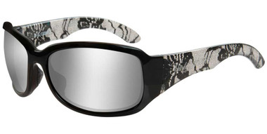 Harley-Davidson Women's Catwalk H-D Sunglasses, Gray Silver Flash Lenses HACTW02 - Wisconsin Harley-Davidson