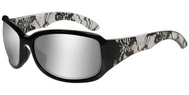 Harley-Davidson Women's Catwalk H-D Sunglasses, Gray Silver Flash Lenses HACTW02 - Wisconsin Harley-Davidson