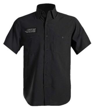 Harley-Davidson Men's Screamin' Eagle Performance Wicking Vented Shirt - Black - Wisconsin Harley-Davidson