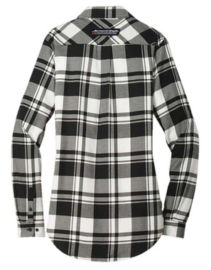 Harley-Davidson Women's Screamin' Eagle Plaid Flannel Long Sleeve Shirt S67BW - Wisconsin Harley-Davidson