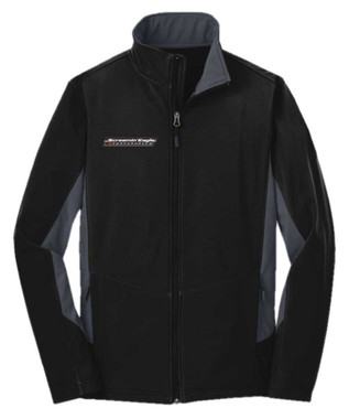 Harley-Davidson Men's Screamin' Eagle Soft Shell Outerwear Jacket, Black F318BG - Wisconsin Harley-Davidson
