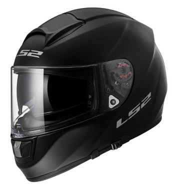 LS2 Helmets Full Face Citation Motorcycle Helmet w/ Shield- Matte Black 397-660 - Wisconsin Harley-Davidson