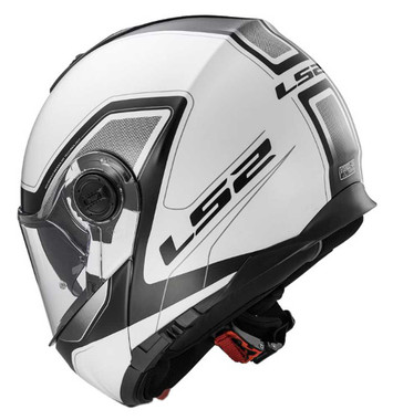 LS2 Helmets Modular Strobe Touring Motorcycle Helmet w/ Shield, Gunmetal 325-102 - Wisconsin Harley-Davidson