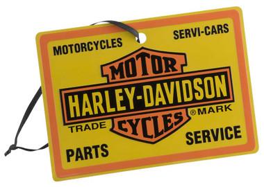Harley-Davidson Trademark Bar & Shield Logo Tin Ornament, 5 x 3.5 inch HDX-99167 - Wisconsin Harley-Davidson
